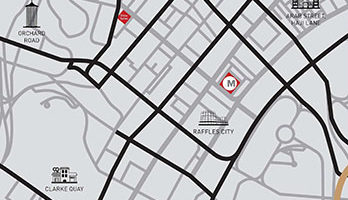 The M Location Map Thumbnail Singapore