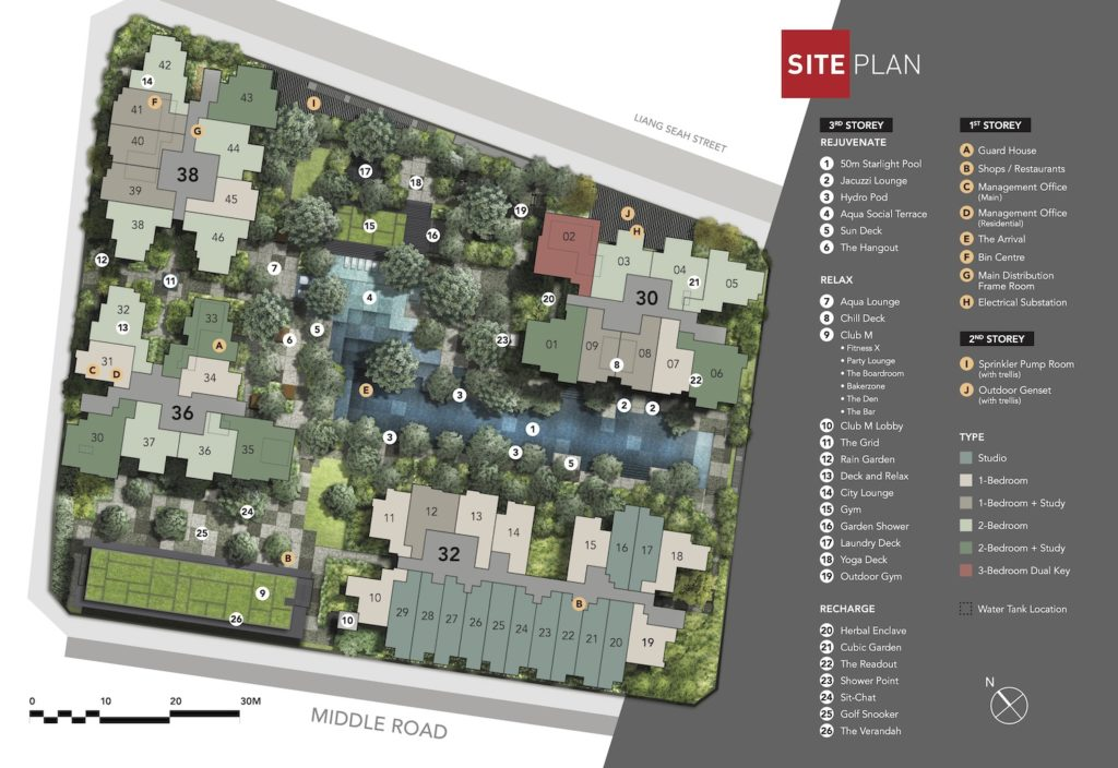 The M Site Plan 1 Singapore